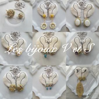 2/6(水)~2/19(火)<br>Les bijoux V et S ビーズ刺繍のアクセサリー展
