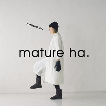 9月13日11時~なくなり次第終了<br>mature ha.帽子展