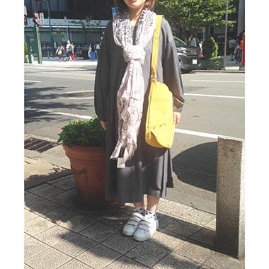 【神戸】秋色のお洋服