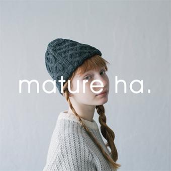 9/9(水)12時~なくなり次第終了<br>mature ha.帽子展