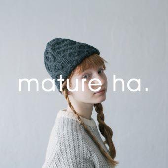 10/2(土)~ なくなり次第終了<br>mature ha.