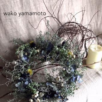 10/12(火)~<br>wako_yamamoto リース展